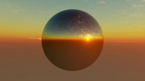 Desert Sunset HDR 11K