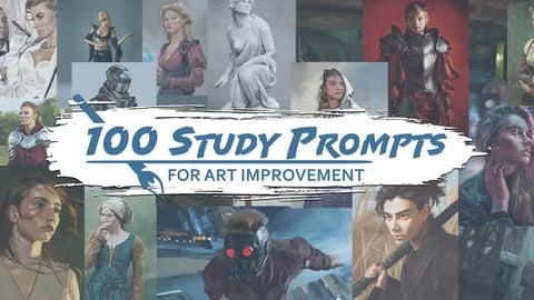 100 Study Prompts For Art Improvement
