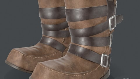 Boots Medieval