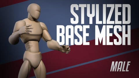 Stylized Basemesh Male