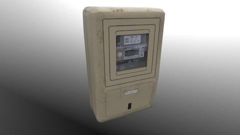 Two Electricity Meters