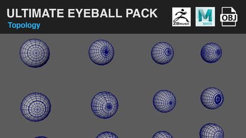 Ultimate Eyeball Model Packs