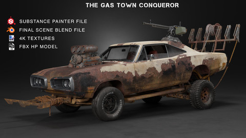Gas Town Conqueror-project files