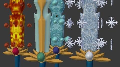 Elements Swords(Weapon)