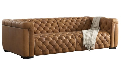 Sofa OBJ FBX