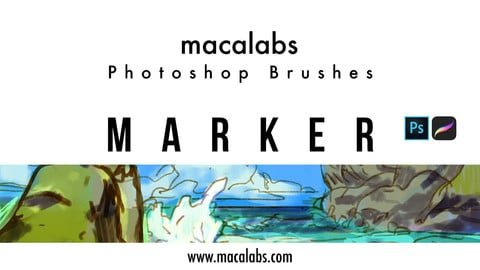 MACALABS_Marker. Photoshop Brush