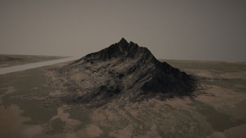 Mountainous Valleys Landscape