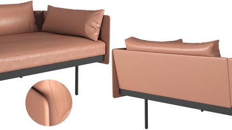 Bureau sofa  by Cameron Foggo