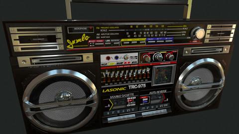 Lasonic TRC-975 Boombox