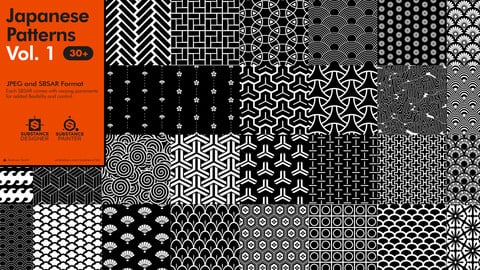 Japanese Patterns Vol. 1