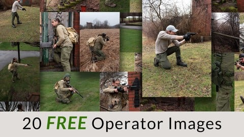 Operator (Post Apocalyptic Military)- Lite (Free Version)
