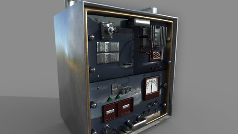 Electric panel 3d