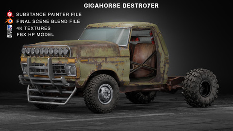 Gigahorse Destroyer-project files
