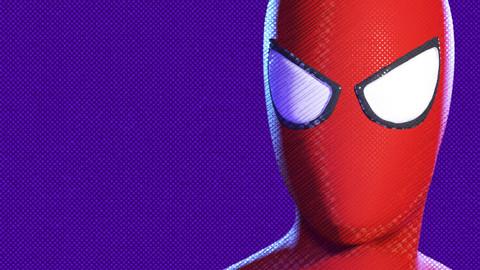 Spider-Verse shader (V-Ray)