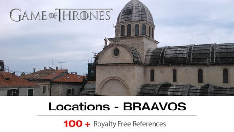Game of Thrones Locations Vol. 1 - BRAAVOS