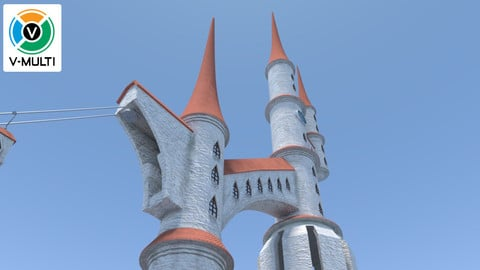 3D Model: Palace Towers