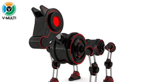 3D Model: Geom Robot Dog