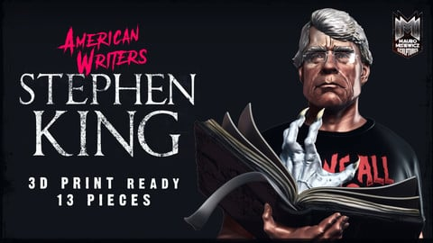 STEPHEN KING STATUE 3D PRINTABLE