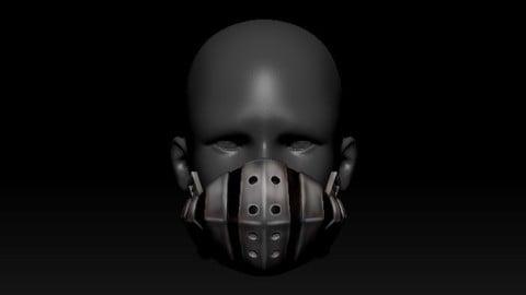 Quarantine Mask Izuku Deku Mask Style