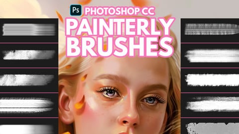 Painterly Brushes for Photoshop