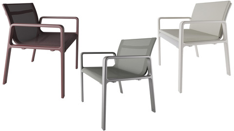 Park life low armchair by Jasper Morrison and Kettal