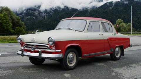 GAZ-M21 Volga 1956