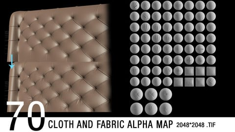 70 Cloth and Fabric ALPHAS (2k)