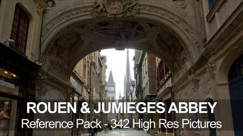 Rouen & Jumieges abbey reference pack