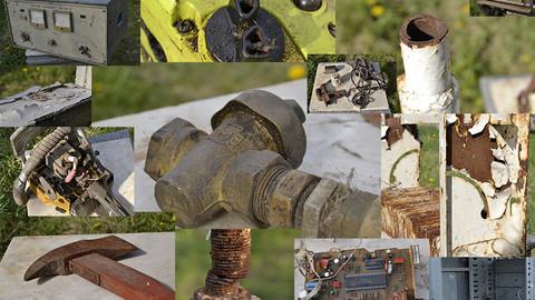 Correct rust and dirt macro details