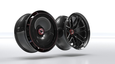 Wheel Design 1.0: Narrows & Wides with front Turbo Fans.