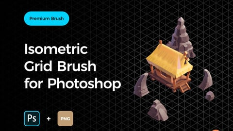 Isometric Grid Brush