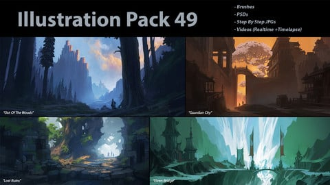 Illustration Pack 49 (not a stock asset)