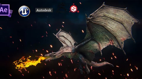 Dragon Printable and gameready PBR Low-poly 3D model