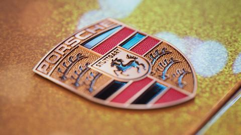 Porsche Emblem PBR Maps