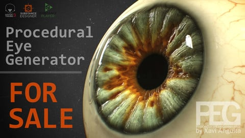Procedural Eye Generator