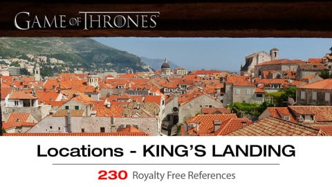 Game of Thrones Locations Vol. 2 - KING'S LANDING
