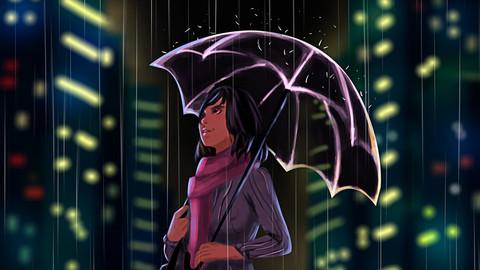 City of Lights (Digital Painting)