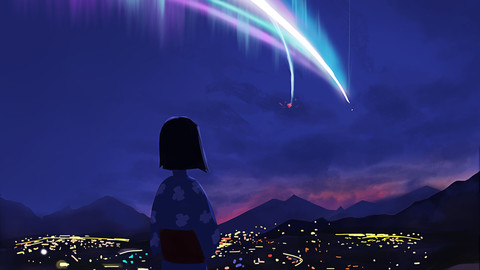 Your Name Fanart (Digital Painting)