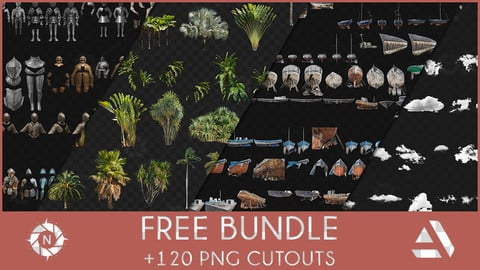 Bundle: Free PNG Cutouts