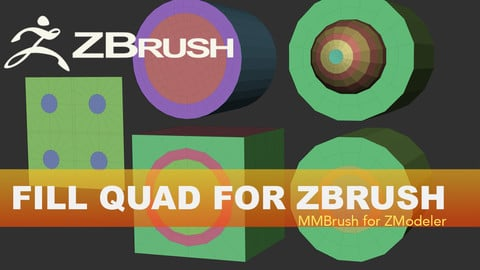 Fill Quad Zbrush IMM Brush