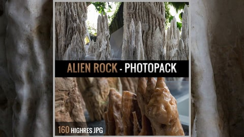 Alien Rock - Photopack