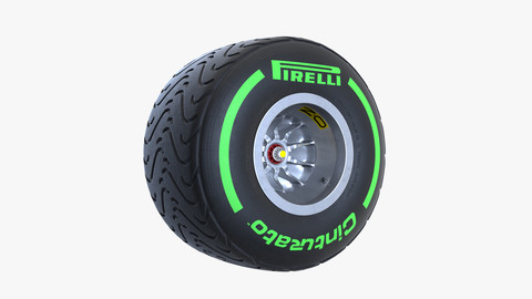 Pirelli Intermediate Green