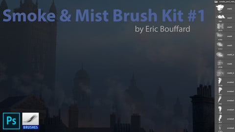 12 Smoke and Mist Brushes for Photoshop