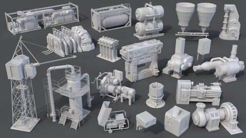 Factory Units 8 - 20 pieces