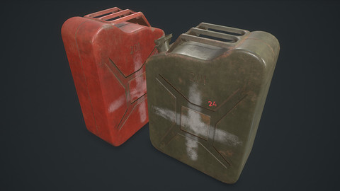 Jerrycan / Canister Realtime PBR