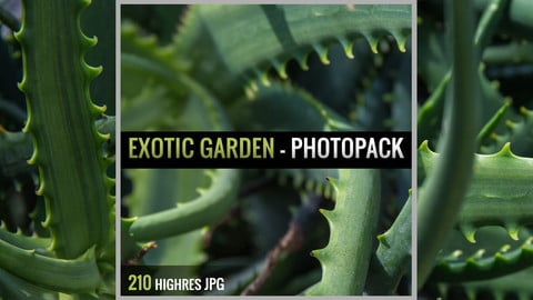 Exotic Garden - Photopack