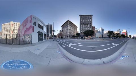 Dountown Los Angeles HDRI 7k 16bit