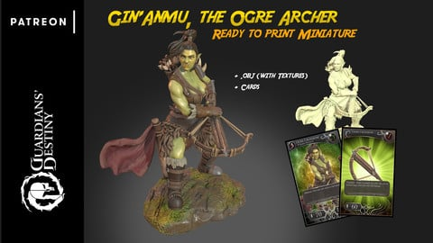 Gin'Anmu the Ogre Archer