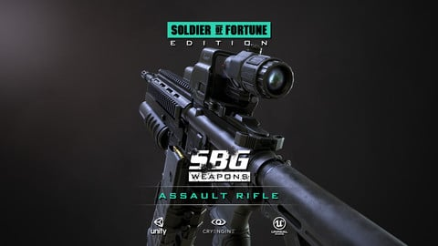 SBG Assault Rifle - Soldier of Fortune Edition
