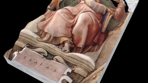 MICHELANGELO BUONAROTI  - SISTINE CHAPEL- ISAIAS -  PROPHETS SERIES
